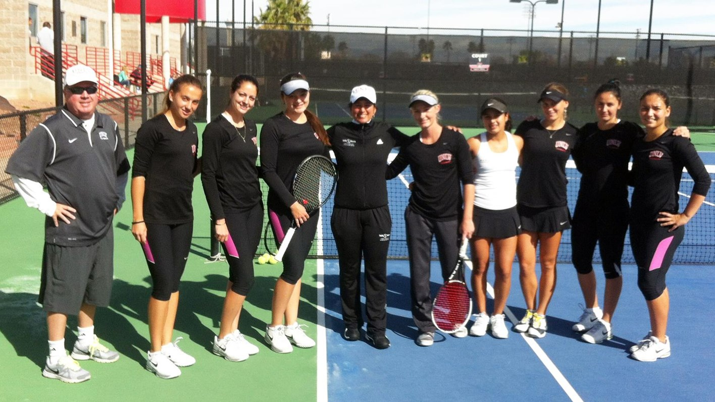 Women's Tennis - University of Nevada Las Vegas Athletics
