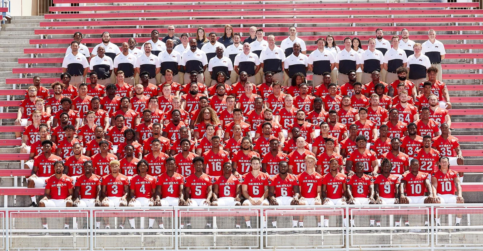 2019 Football Roster - University of Nevada Las Vegas Athletics